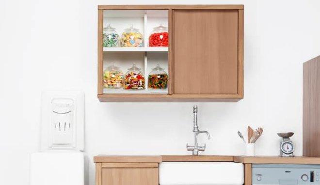 Placard cuisine maison et mobilier d 39 int rieur for Placard mural cuisine pas cher