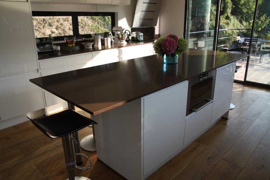 Table Haute Cuisine Design Best Meuble Separation Cuisine - Table bar cuisine fly pour idees de deco de cuisine