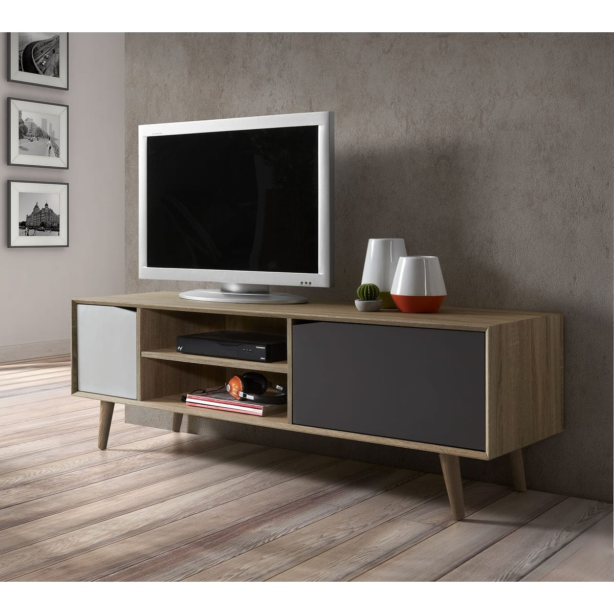 meuble tv solde maison et mobilier d 39 int rieur. Black Bedroom Furniture Sets. Home Design Ideas