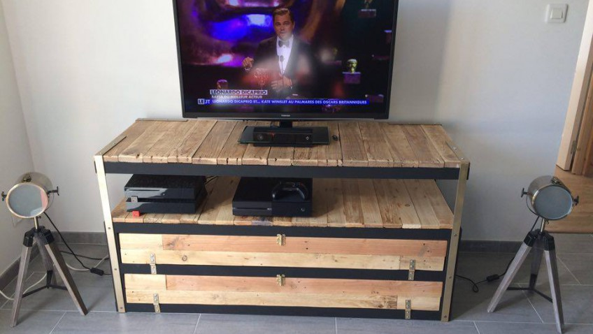 petit meuble tv maison et mobilier d 39 int rieur. Black Bedroom Furniture Sets. Home Design Ideas