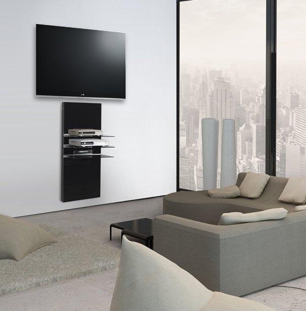 Petit meuble tv mural maison et mobilier d 39 int rieur for Petit meuble hifi
