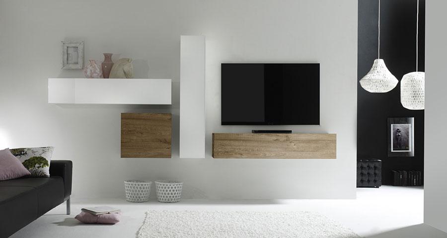 Meuble tv tele suspendu Maison et mobilier d intérieur