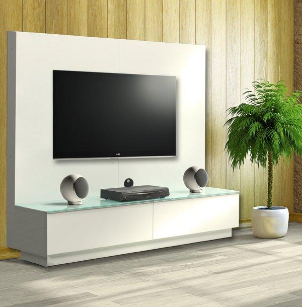 Meuble Tv Grand Ecran Plat - Maison Et Mobilier D'Intérieur