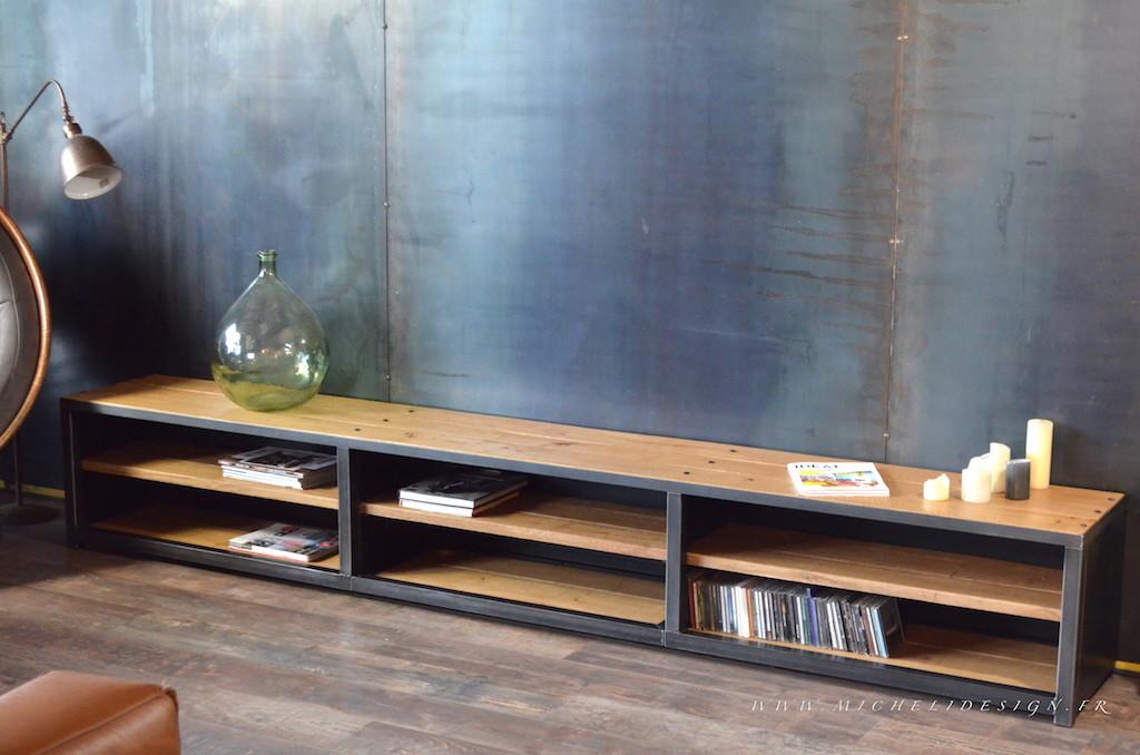 Meuble bas tele Mobilier design décoration d intérieur