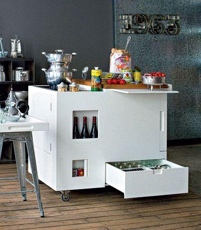 Meuble Cuisine Sur Roulette meuble de cuisine sur roulette - idée de modèle de cuisine