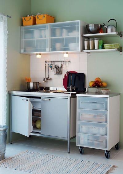 Meuble de cuisine pour tudiant maison et mobilier d 39 int rieur - Petit meuble cuisine ikea ...