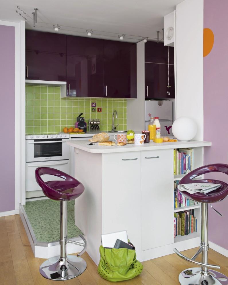 Tabouret de bar aubergine maison et mobilier d 39 int rieur for Interieur aubergine