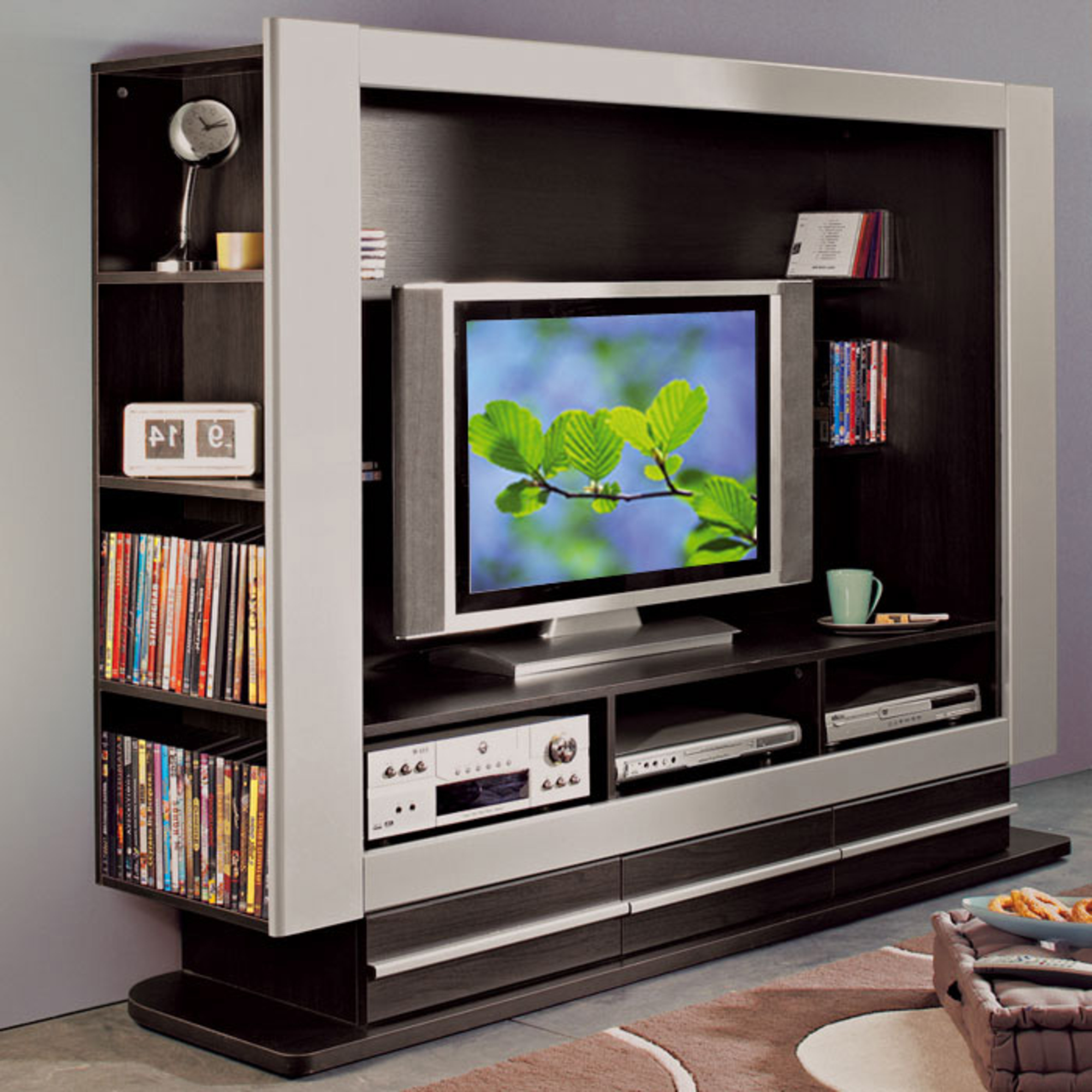 meuble tv ecran plat maison et mobilier d 39 int rieur. Black Bedroom Furniture Sets. Home Design Ideas