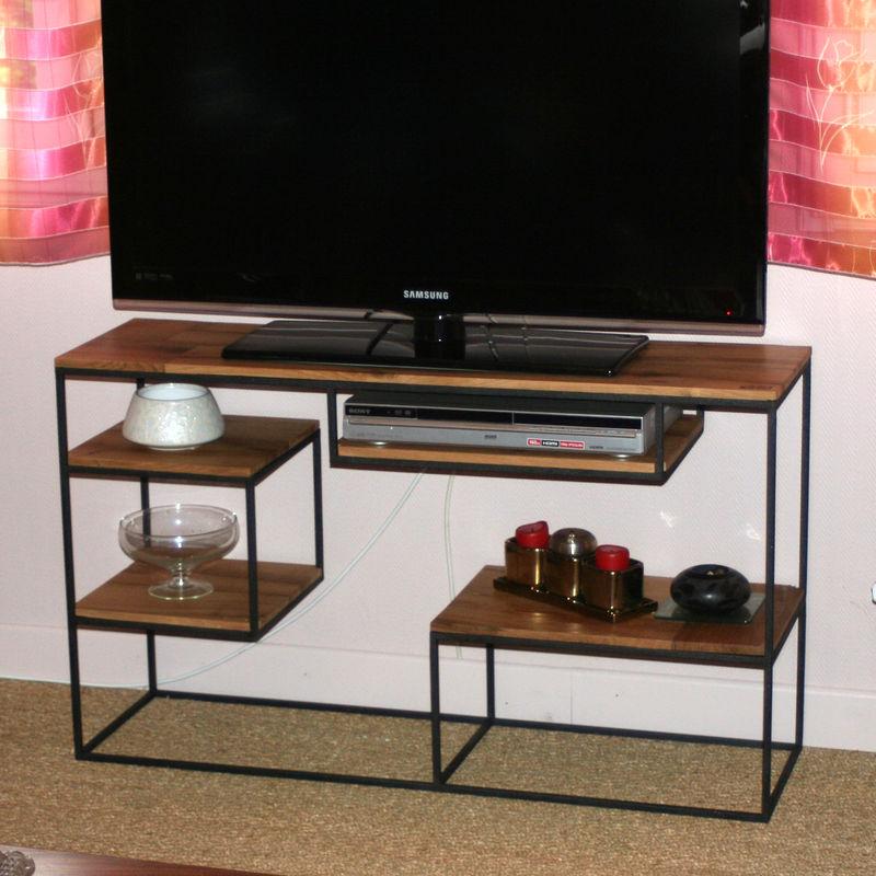 meuble tele fin maison et mobilier d 39 int rieur. Black Bedroom Furniture Sets. Home Design Ideas