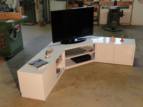 Meuble de tele angle maison et mobilier d 39 int rieur - Meuble tv angle fly ...