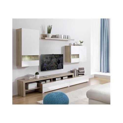 meuble tv mural cdiscount maison et mobilier d 39 int rieur. Black Bedroom Furniture Sets. Home Design Ideas
