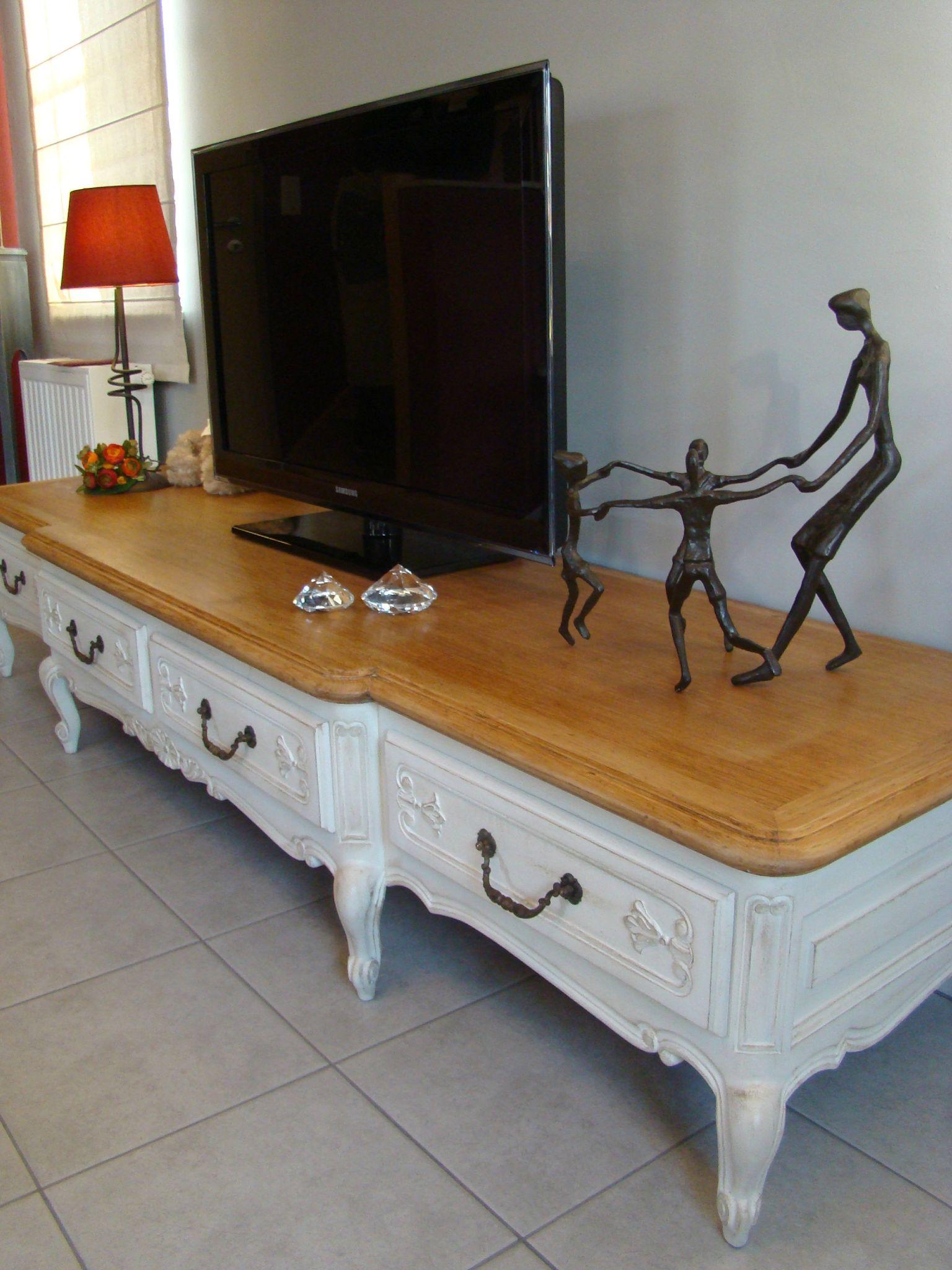 Relooker Un Meuble Tv Maison Et Mobilier D Int Rieur # Comment Relooker Meuble Tele