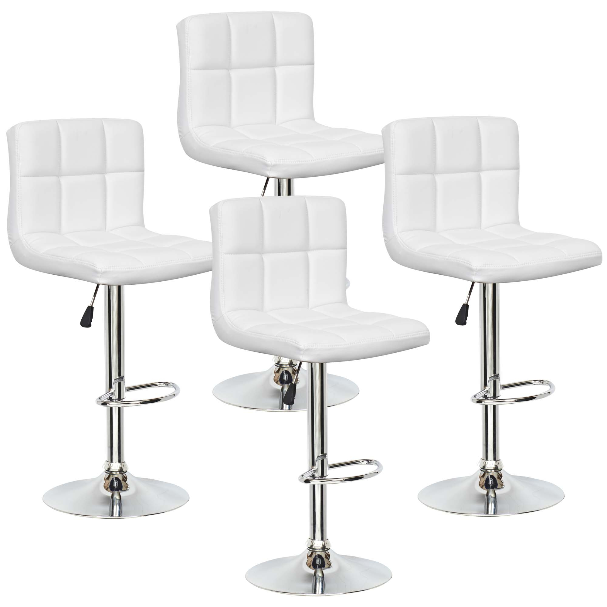 tabouret blanc de bar maison et mobilier d 39 int rieur. Black Bedroom Furniture Sets. Home Design Ideas