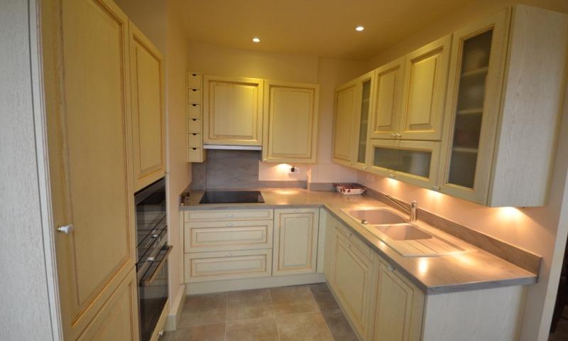 Meubles de cuisine jaune paille maison et mobilier d for Meuble cuisine jaune