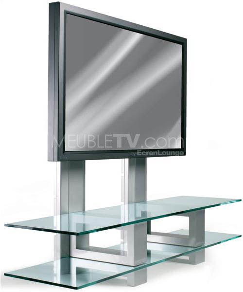 Meuble de tele en verre maison et mobilier d 39 int rieur - Meuble tele en verre ...
