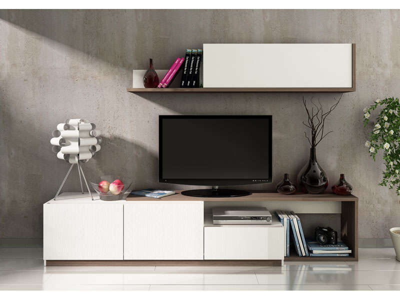 elegant fabulous meuble tv conforama with meuble tv conforama with plateau tournant pour tv. Black Bedroom Furniture Sets. Home Design Ideas