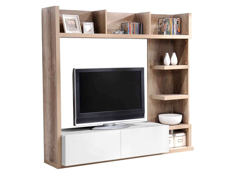 finest etagere murale sous tv with etagere murale sous tv. Black Bedroom Furniture Sets. Home Design Ideas