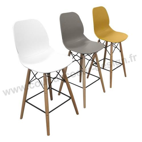 tabouret de bar nordique maison et mobilier d 39 int rieur. Black Bedroom Furniture Sets. Home Design Ideas