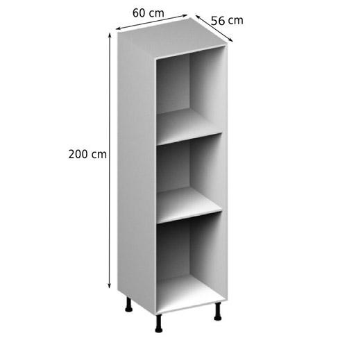 Meuble de cuisine 60 x 50 maison et mobilier d 39 int rieur - Meuble cuisine largeur 55 cm ...