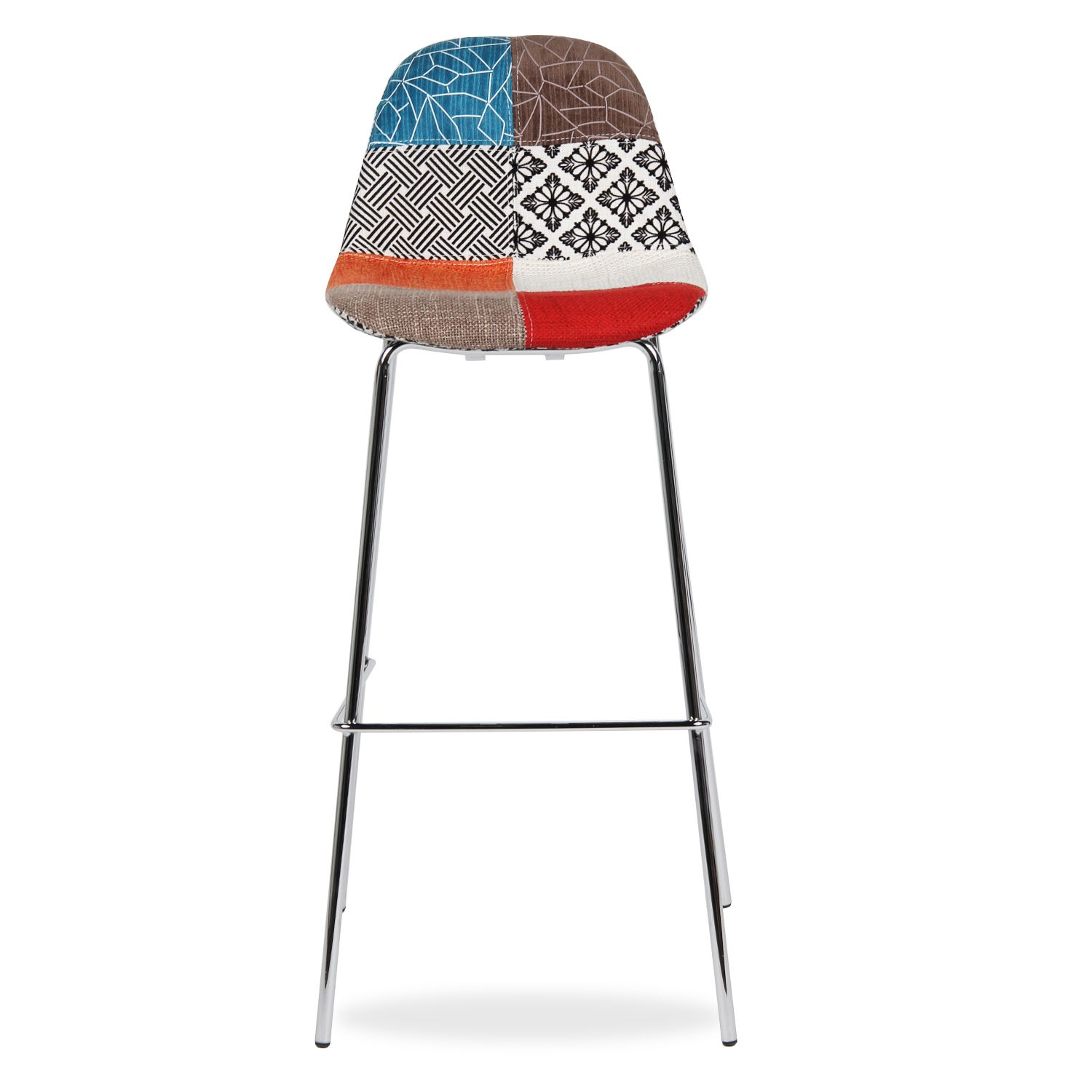 tabouret de bar patchwork maison et mobilier d 39 int rieur. Black Bedroom Furniture Sets. Home Design Ideas