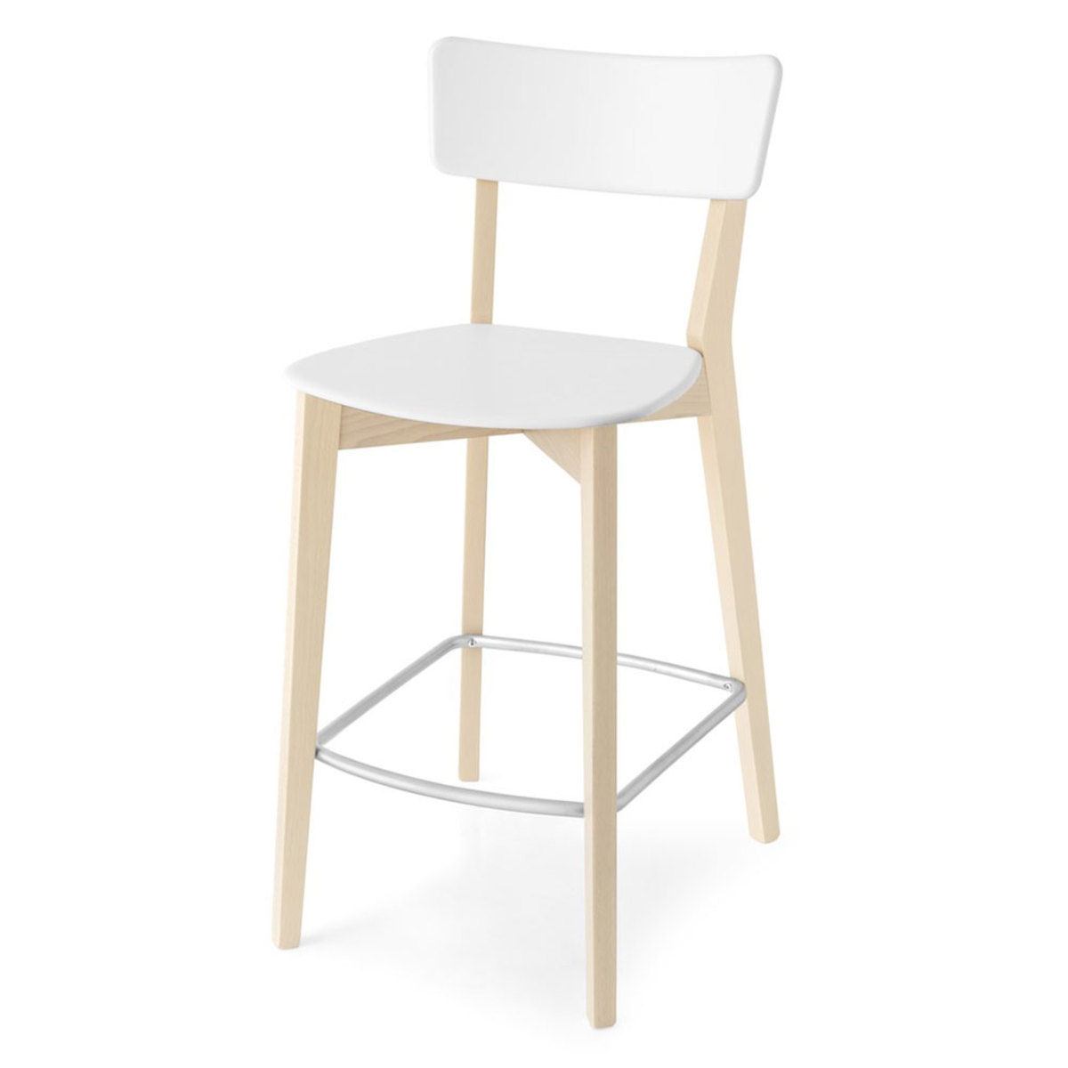 tabouret de bar blanc gifi maison et mobilier d 39 int rieur. Black Bedroom Furniture Sets. Home Design Ideas