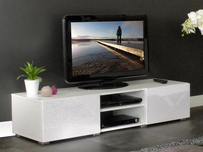 meuble a tv blanc - Meuble Tv Blanc Glossy