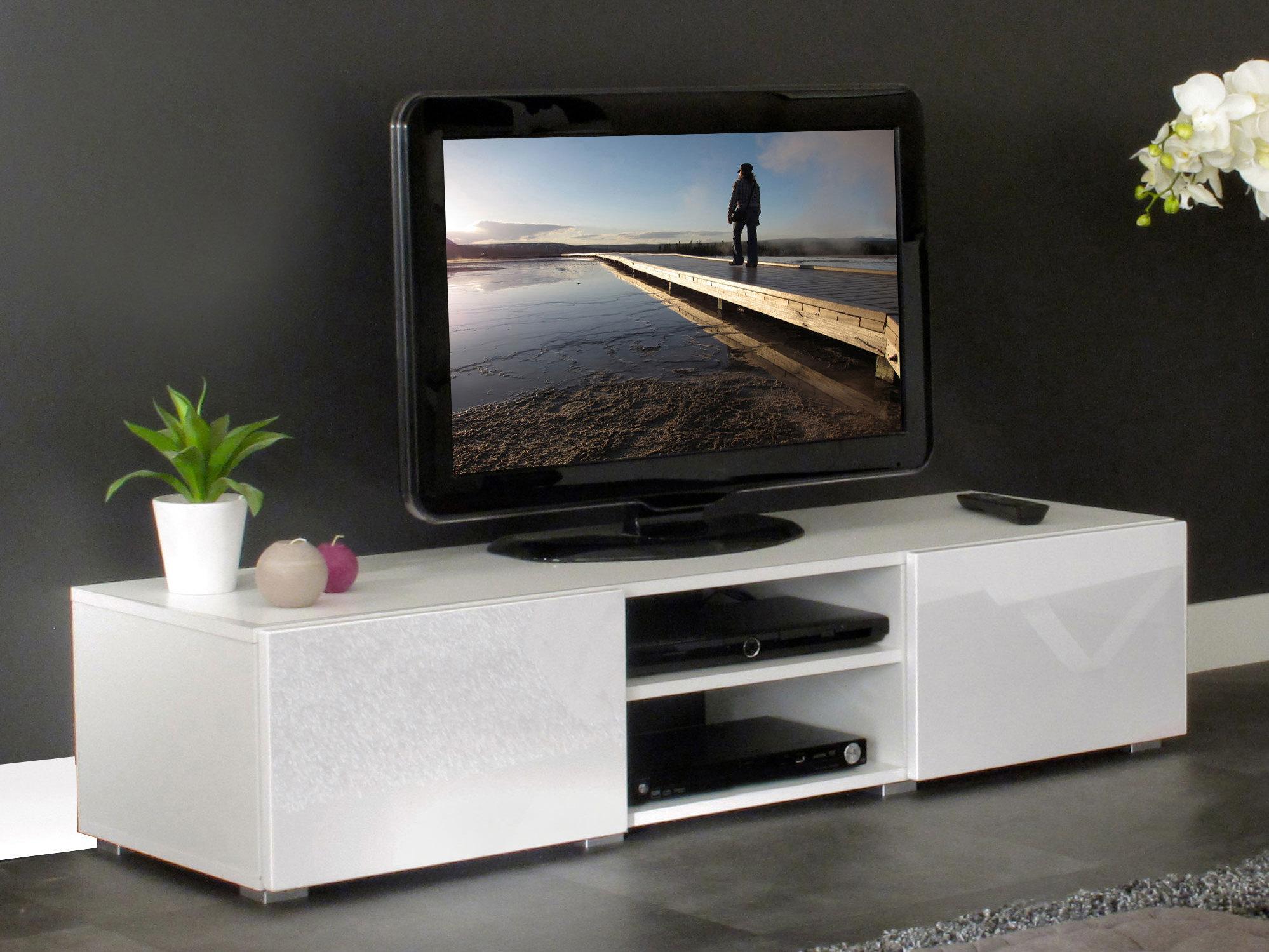 Meuble Tv 2 Niches Maison Et Mobilier D Int Rieur # Meuble Tv Avec Niche