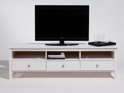 meuble tv blanc bois maison et mobilier d 39 int rieur. Black Bedroom Furniture Sets. Home Design Ideas