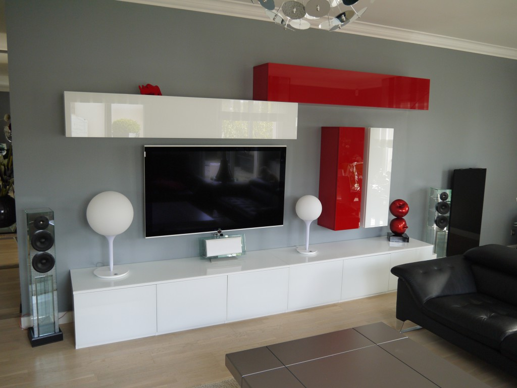 Meuble living tv maison et mobilier d 39 int rieur for Meuble xooon occasion