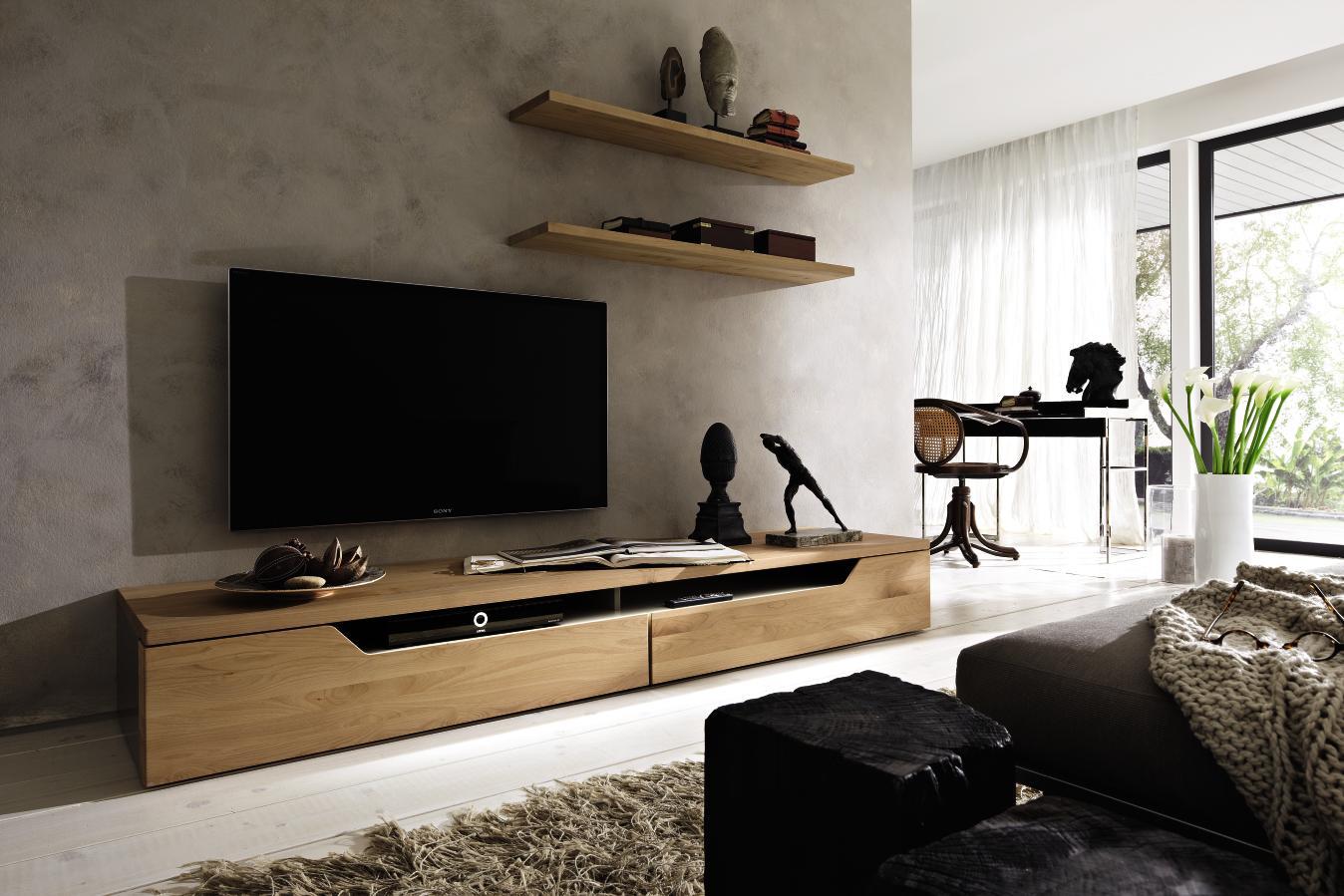 Meuble Tv Chene Design Maison Et Mobilier D Int Rieur # Modeles De Meubles Tv Moderne
