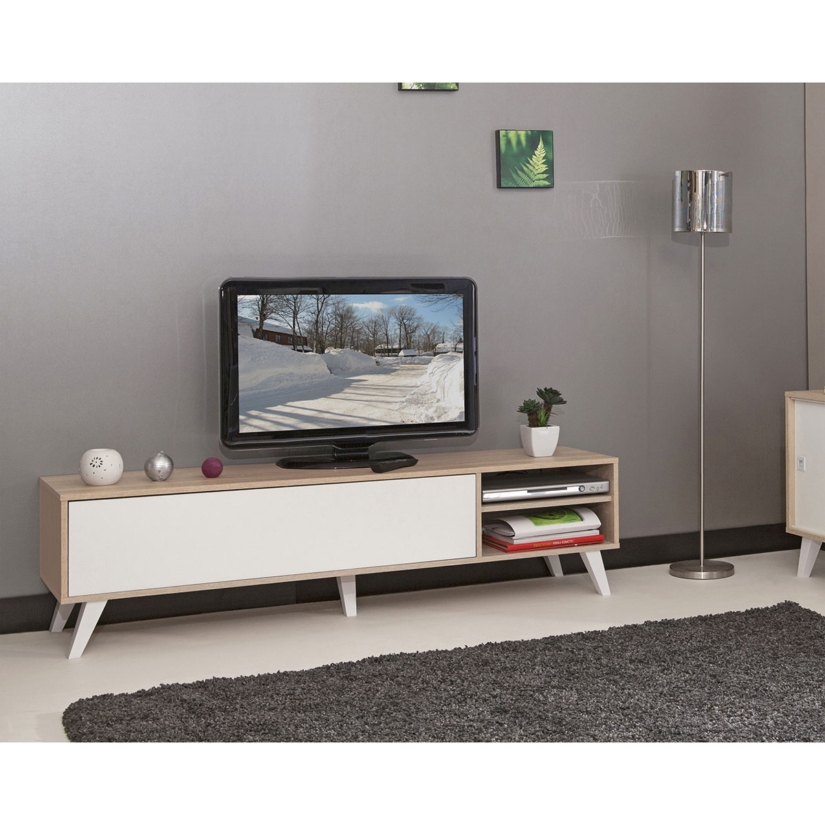 achat meuble tv pas cher maison et mobilier d 39 int rieur. Black Bedroom Furniture Sets. Home Design Ideas