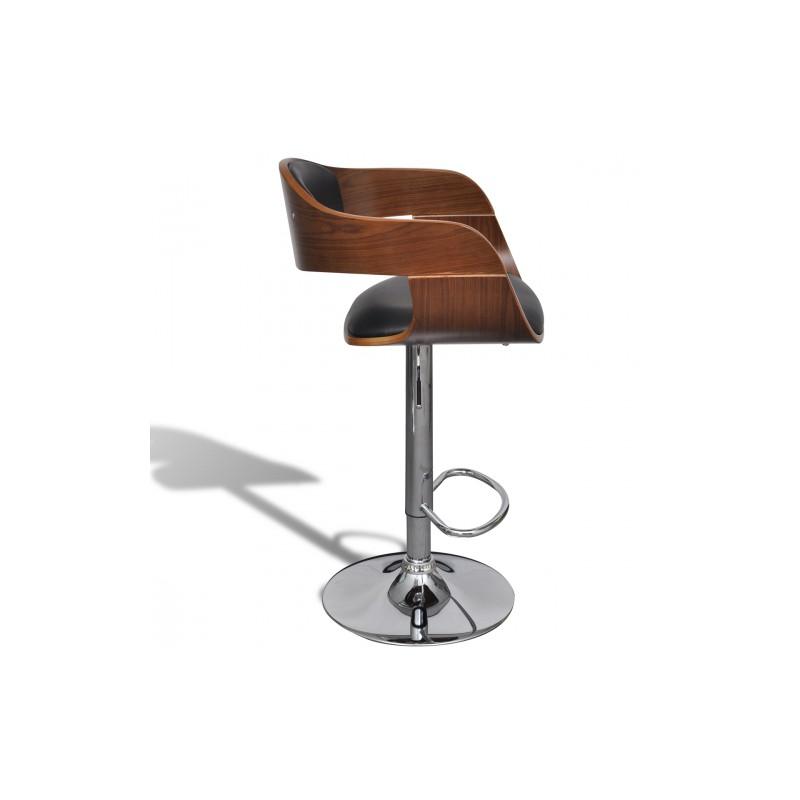 Tabouret de bar en bois r glable en hauteur maison et mobilier d 39 int rieur - Hauteur d un tabouret de bar ...