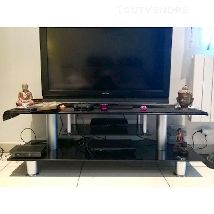 Meuble Tv Verre Conforama Maison Et Mobilier D Interieur
