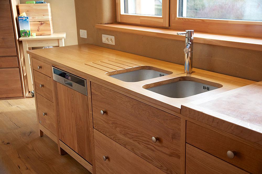 Meuble de cuisine bois brut maison et mobilier d 39 int rieur - Meuble cuisine bois brut ...