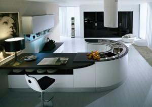 cuisine italienne design 2 300x211 Résultat Supérieur 50 Frais Meuble Design Italien Photos 2018 Kdj5