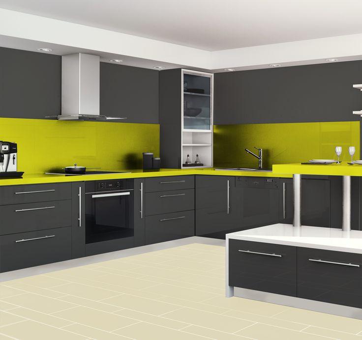 Meuble cuisine gris - Maison et mobilier d\'intérieur