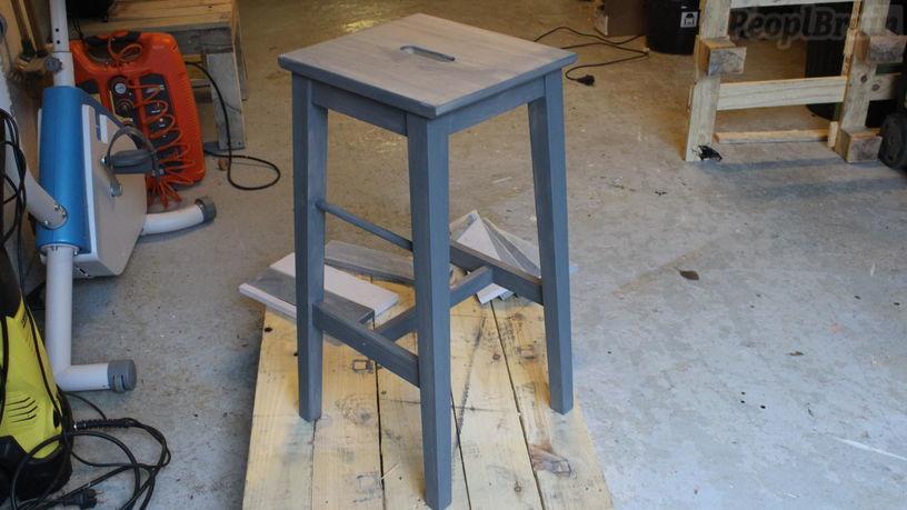 customiser un tabouret de bar maison et mobilier d 39 int rieur. Black Bedroom Furniture Sets. Home Design Ideas