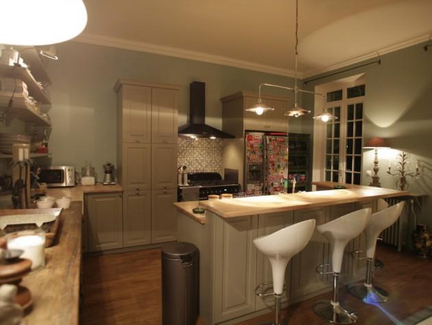 Tabouret pour cuisine americaine maison et mobilier d for Deco cuisine avec ou trouver des chaises