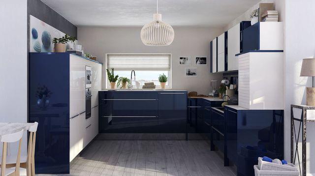 Meuble de cuisine 2 couleurs maison et mobilier d 39 int rieur - Meuble de couleur ...