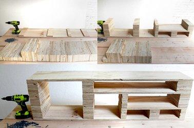 Quel bois pour fabriquer meuble tv maison et mobilier d 39 int rieur - Fabriquer un meuble tv en bois ...