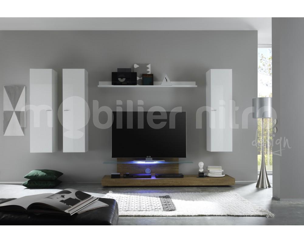 Ensemble Meuble Tv Design Maison Et Mobilier D Int Rieur # Ensemble Meuble Tv Pas Cher
