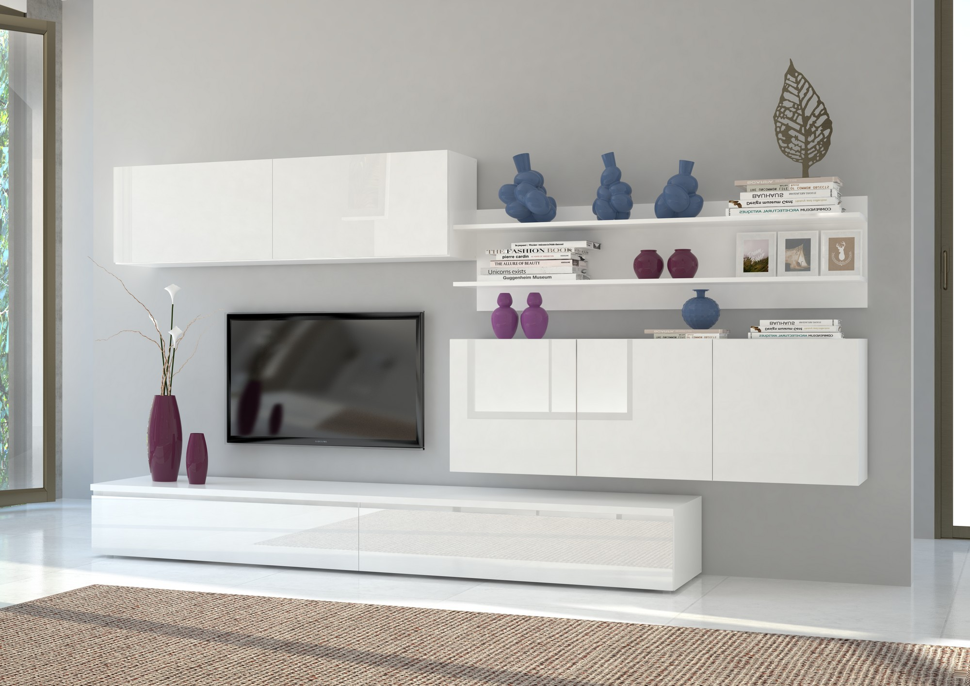ensemble meuble tv maison et mobilier d 39 int rieur. Black Bedroom Furniture Sets. Home Design Ideas