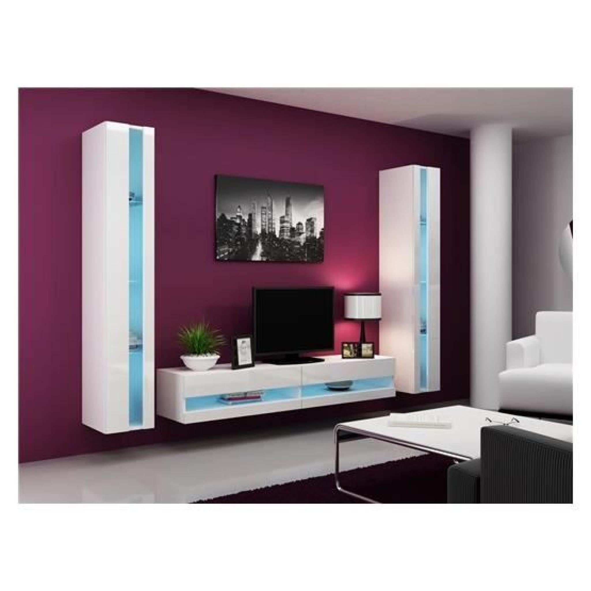 meuble tv a led maison et mobilier d 39 int rieur. Black Bedroom Furniture Sets. Home Design Ideas