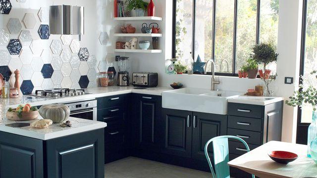 meuble de cuisine a castorama maison et mobilier d 39 int rieur. Black Bedroom Furniture Sets. Home Design Ideas