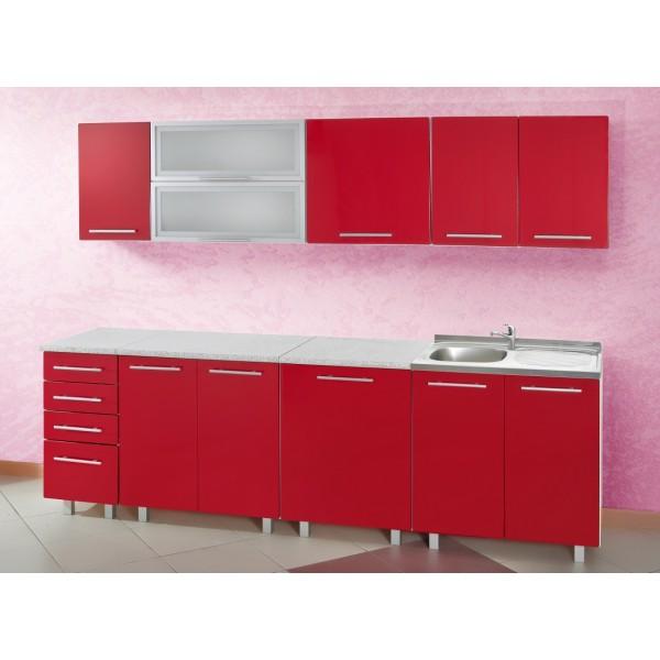 meuble bas de cuisine rouge pas cher maison et mobilier d 39 int rieur. Black Bedroom Furniture Sets. Home Design Ideas