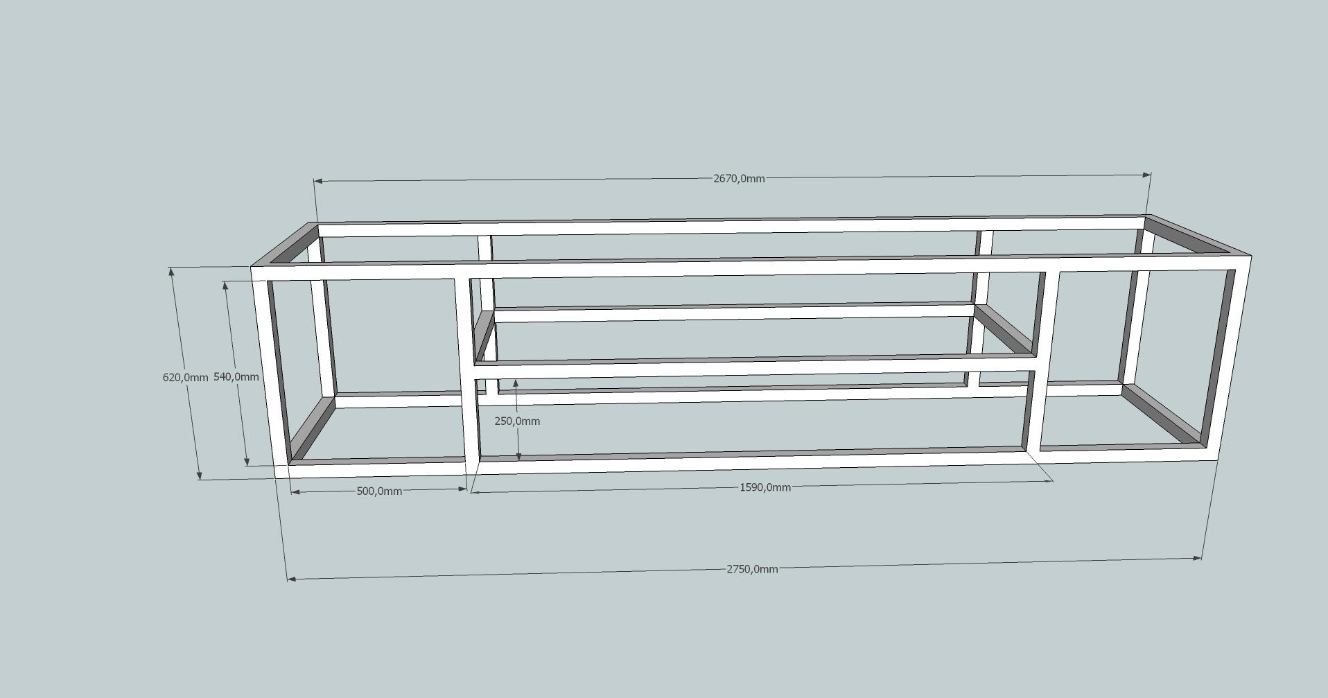 construire un meuble tv en bois maison et mobilier d 39 int rieur. Black Bedroom Furniture Sets. Home Design Ideas