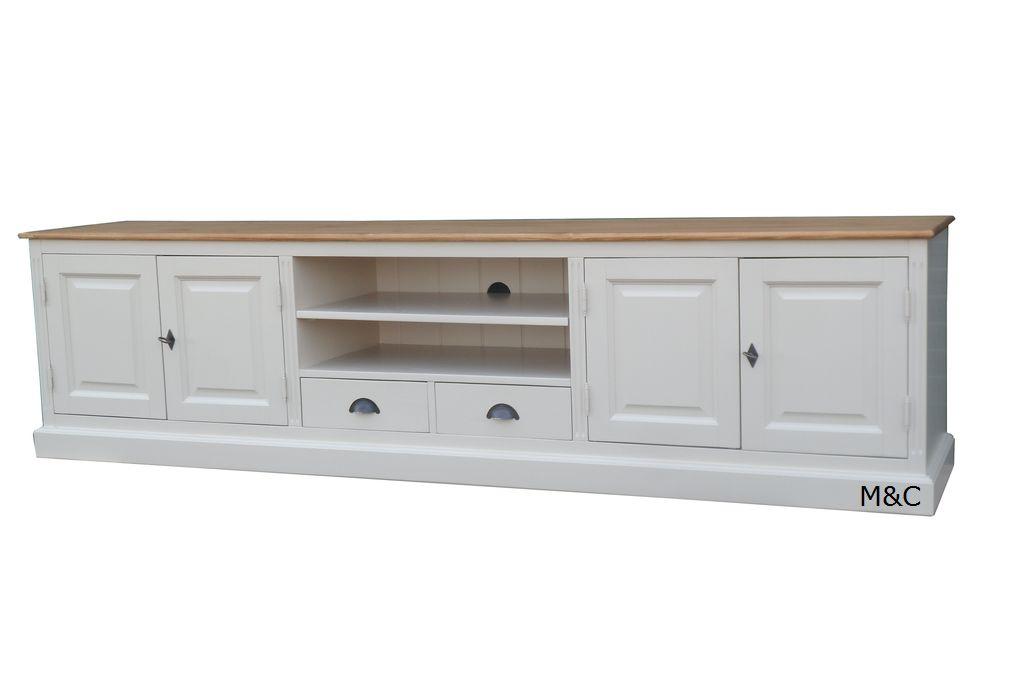 Meuble tv long bois Maison et mobilier d intérieur