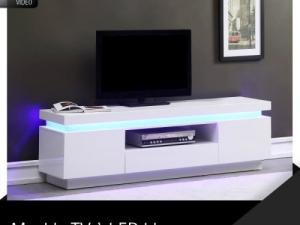 Cdiscount Meuble Tv Noir Et Blanc Maison Et Mobilier D