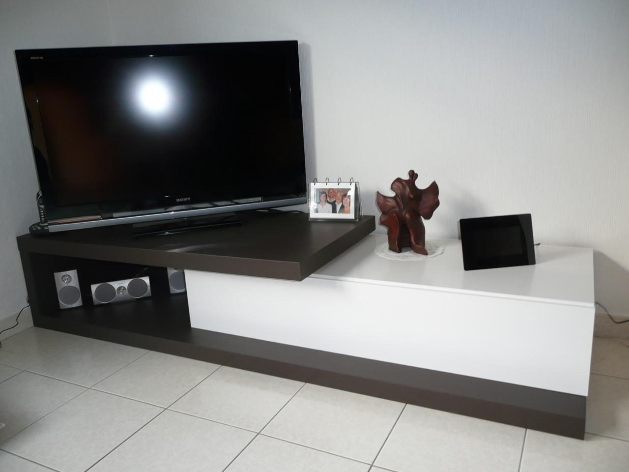 Meuble Tv De Coin Meuble Tv 140 Newbalancesoldes # Table Tv En Coin