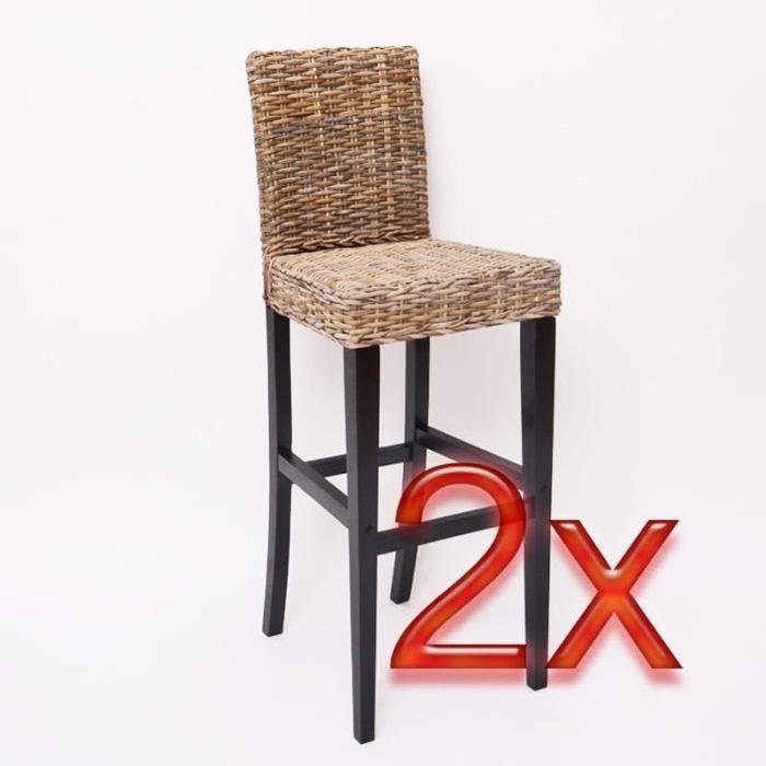 tabouret de bar en rotin maison et mobilier d 39 int rieur. Black Bedroom Furniture Sets. Home Design Ideas